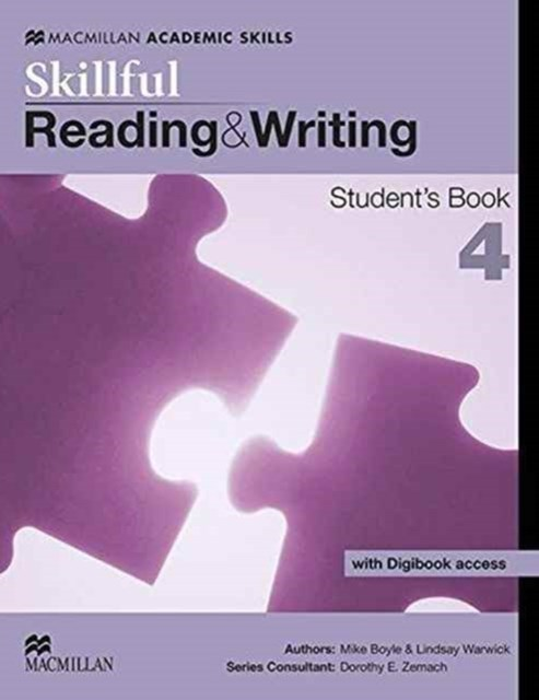 Skillful Reading and Writing Student Book and Digibook Level4 American English