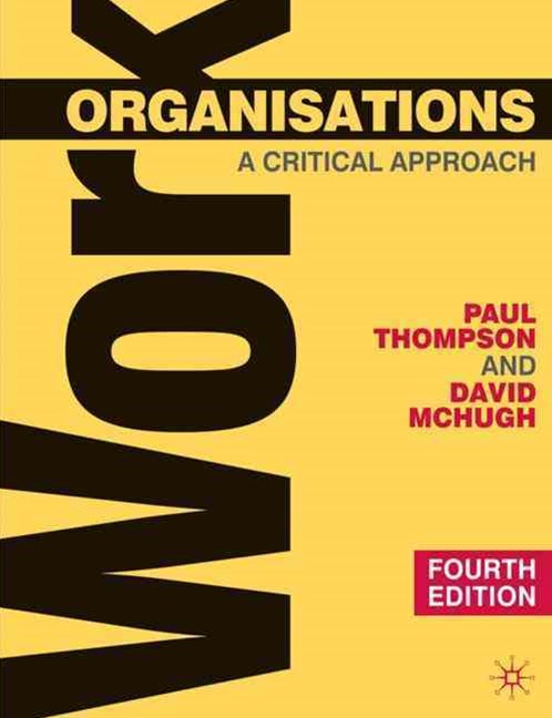 Work Organisations