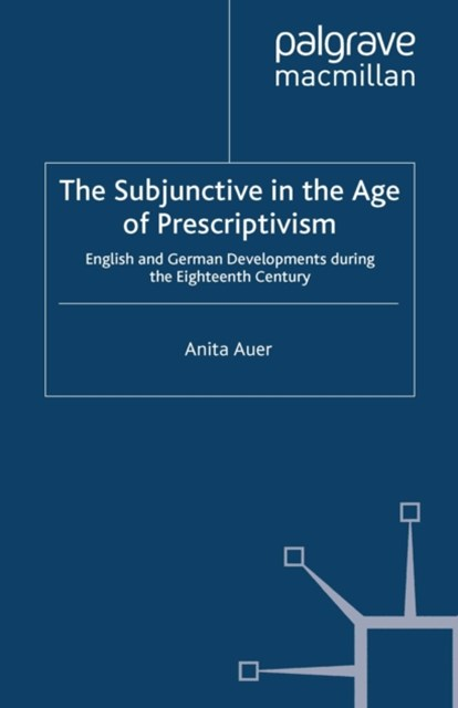 (ebook) Subjunctive in the Age of Prescriptivism