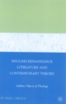 (ebook) English Renaissance Literature and Contemporary Theory