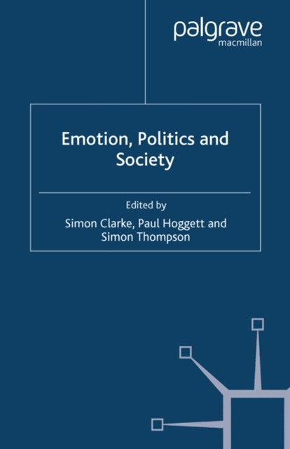 (ebook) Emotion, Politics and Society