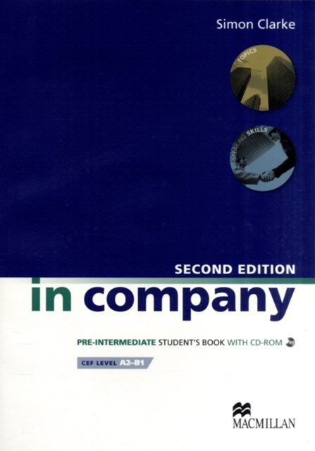 In Company Student's Book & CD-ROM Pack Pre-intermediate Level