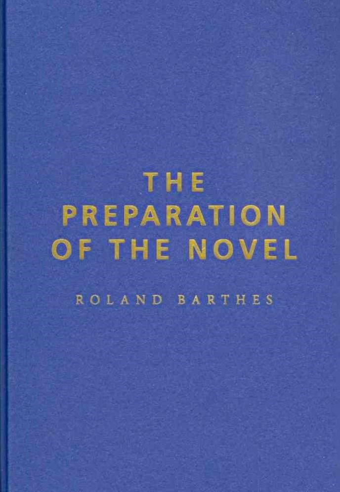 The Preparation of the Novel