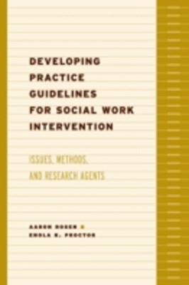(ebook) Developing Practice Guidelines for Social Work Intervention