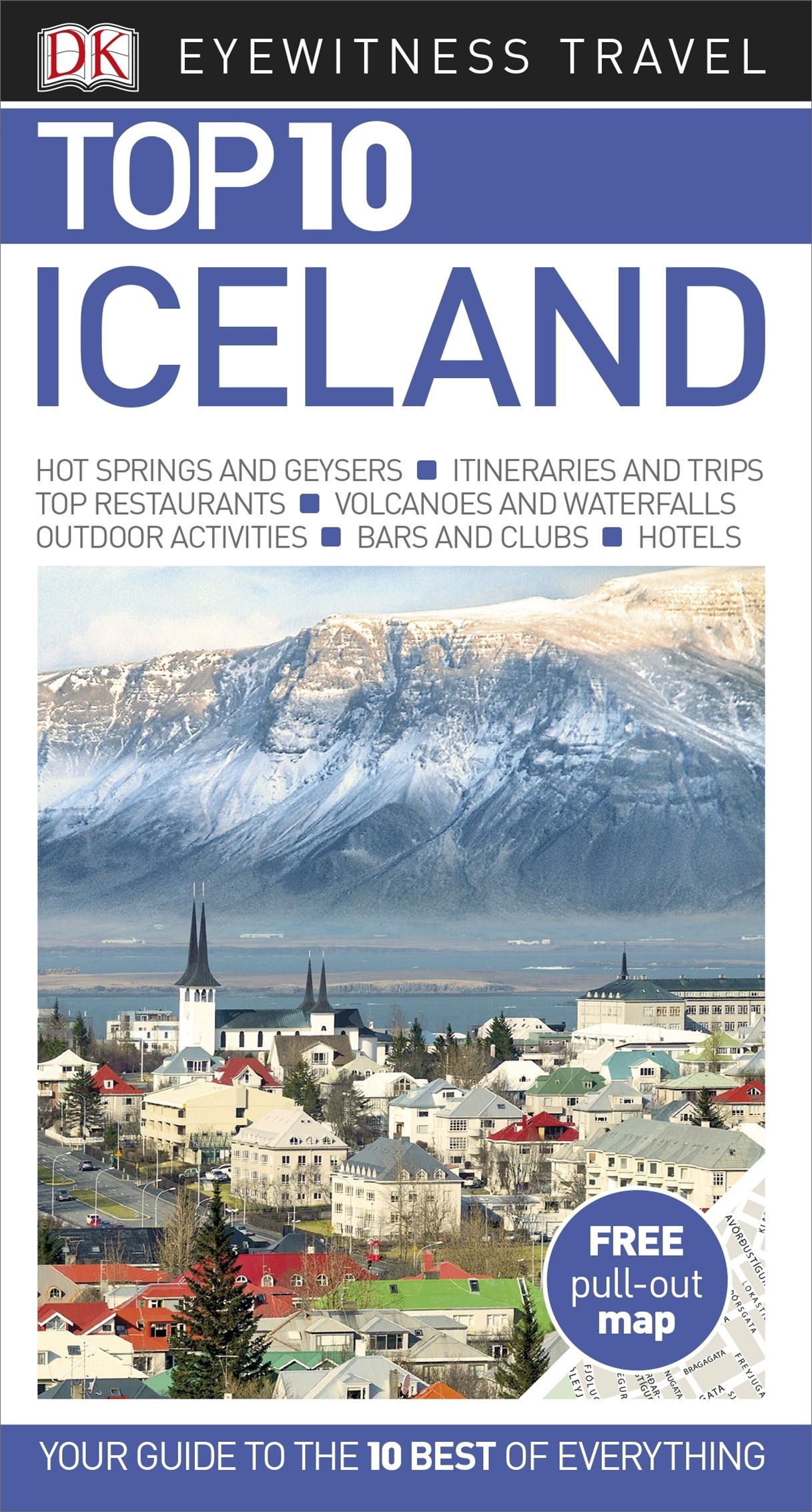 Iceland: Eyewitness Top 10 Travel Guide