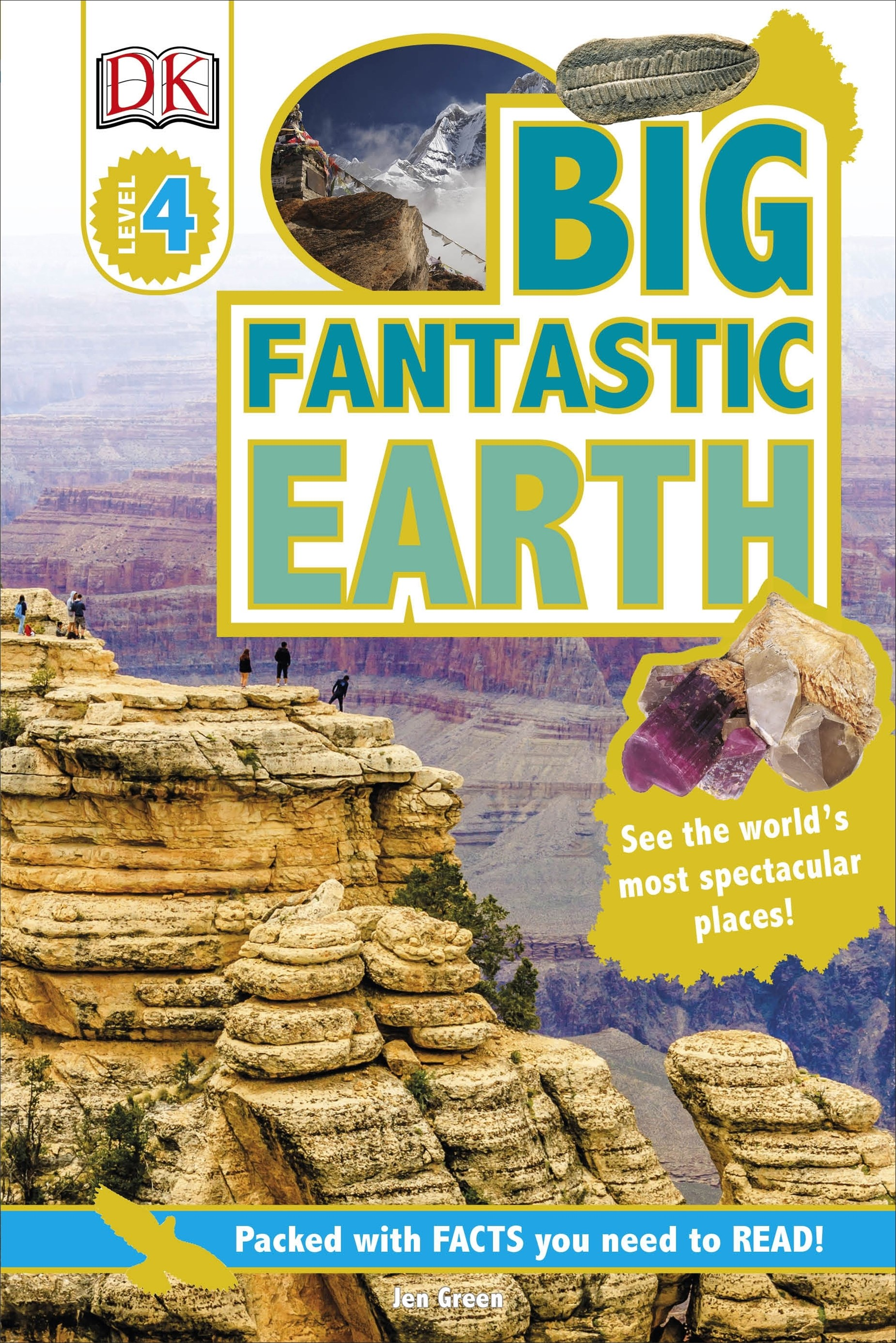 DK Reader: Big Fantastic Earth