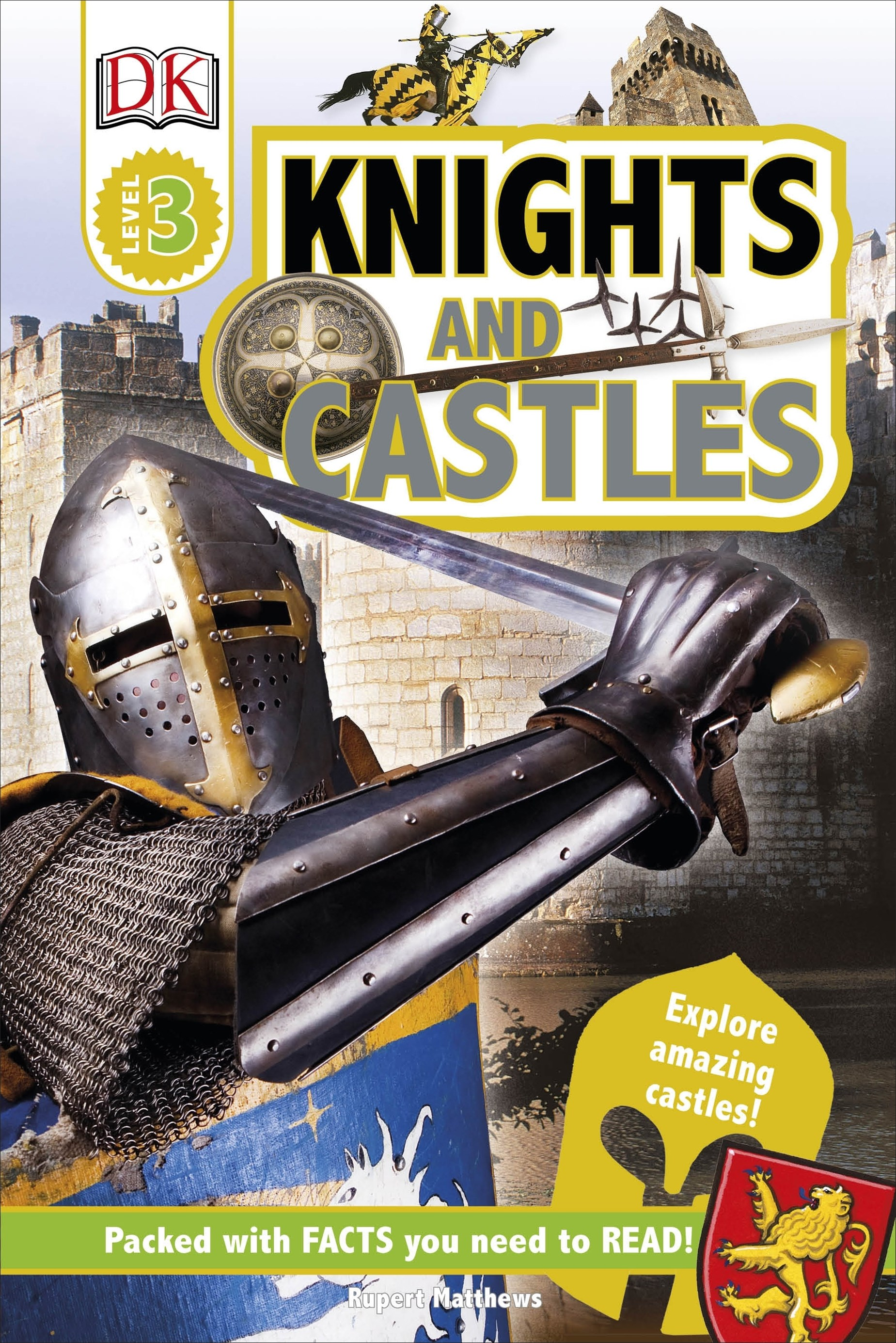 DK Reader: Knights and Castles
