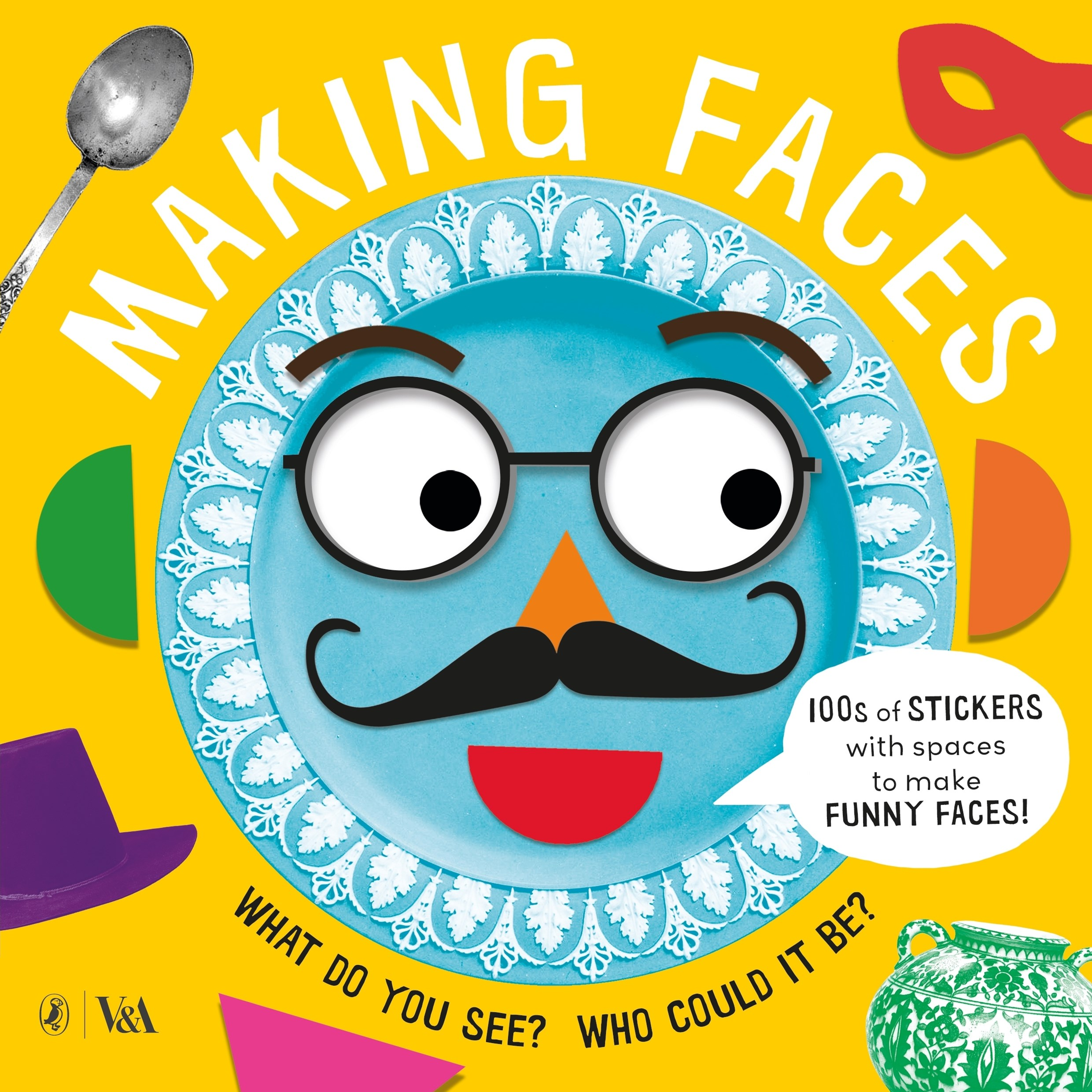 Making Faces: A Sticker Book