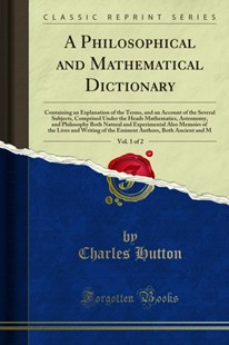 (ebook) Philosophical and Mathematical Dictionary - Science & Technology Astronomy