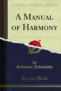 (ebook) Manual of Harmony - Entertainment Music Technique
