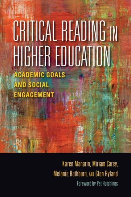 (ebook) Critical Reading in Higher Education