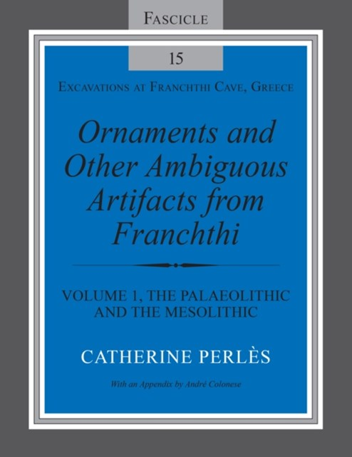 (ebook) Ornaments and Other Ambiguous Artifacts from Franchthi