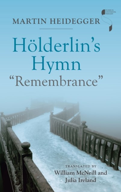 (ebook) Holderlin's Hymn &quote;Remembrance&quote;