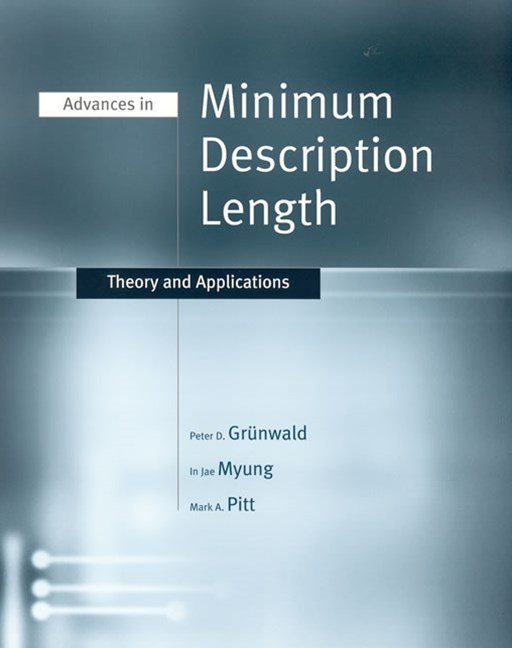 Advances in Minimum Description Length