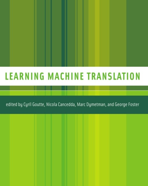 (ebook) Learning Machine Translation