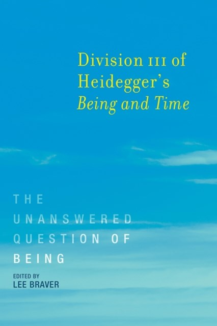 (ebook) Division III of Heidegger's Being and Time