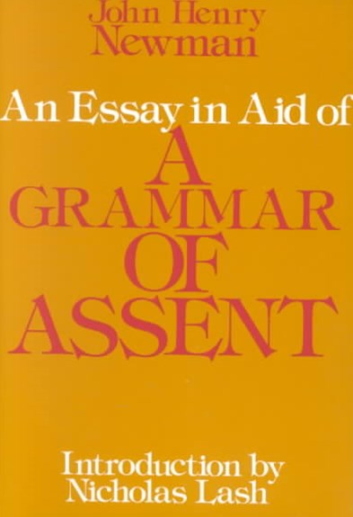 Essay in Aid of a Grammar of Assent