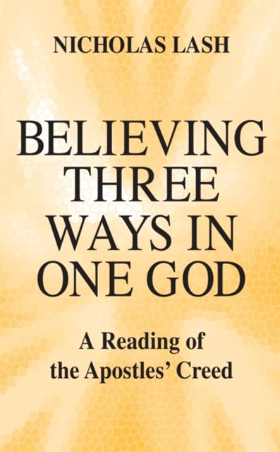 (ebook) Believing Three Ways in One God