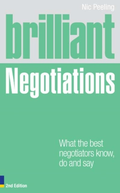 (ebook) Brilliant Negotiations 2e