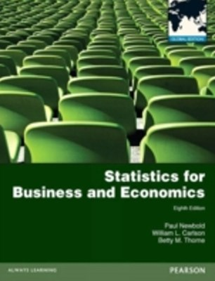 (ebook) Statistics for Business and Economics: Global Edition