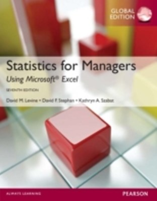 (ebook) Statistics for Managers using MS Excel, Global Edition