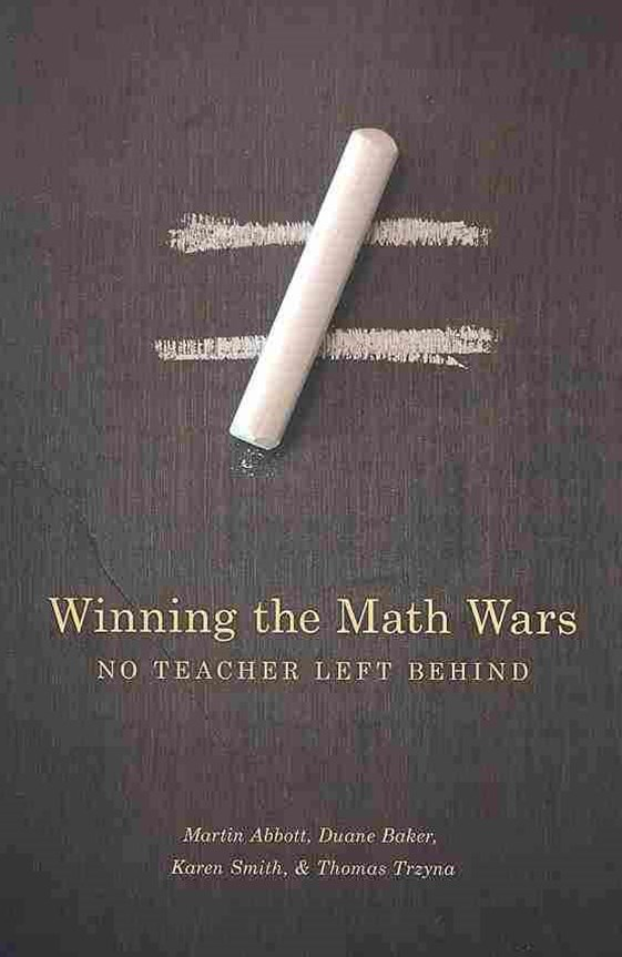 Winning the Math Wars