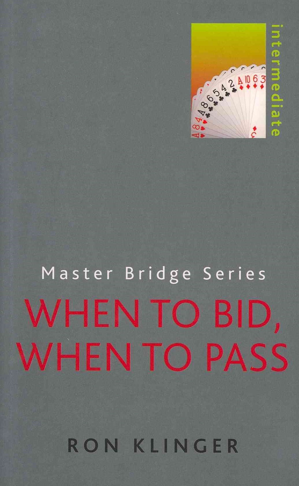 When to Bid, When to Pass