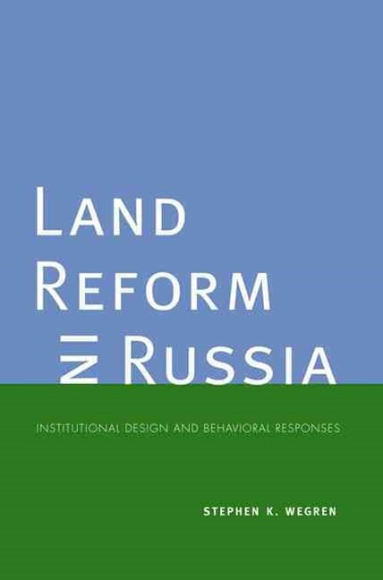 Land Reform in Russia