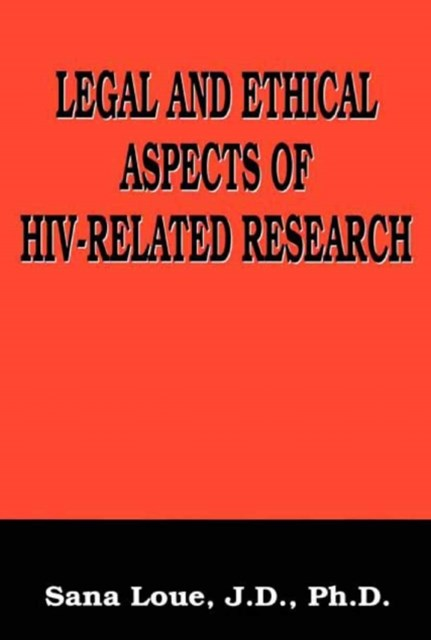 (ebook) Legal and Ethical Aspects of HIV-Related Research