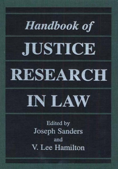 (ebook) Handbook of Justice Research in Law
