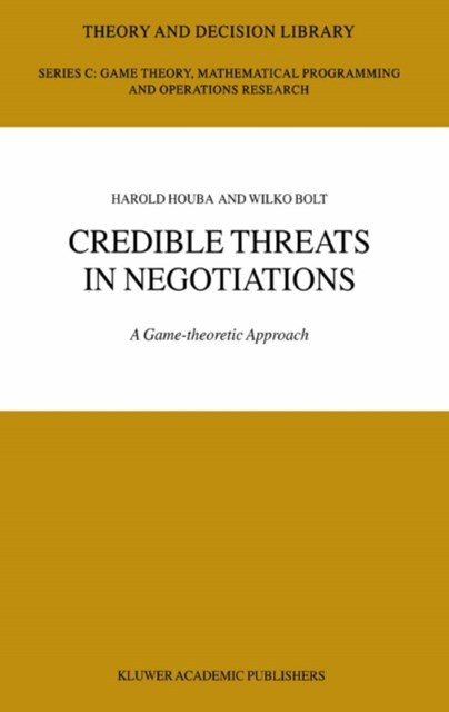 (ebook) Credible Threats in Negotiations