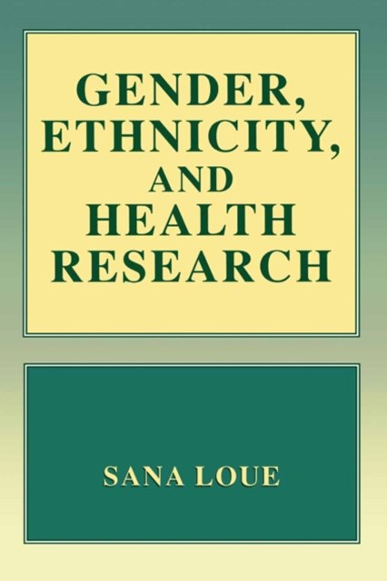(ebook) Gender, Ethnicity, and Health Research
