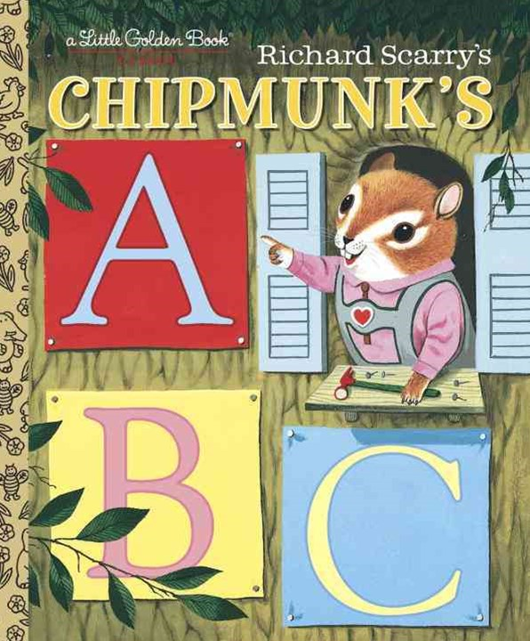LGB Richard Scarry Chipmunk's ABC