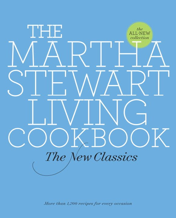 The Martha Stewart Living Cookbook