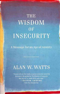 Dymocks the wisdom of insecurity by alan w watts fandeluxe Image collections