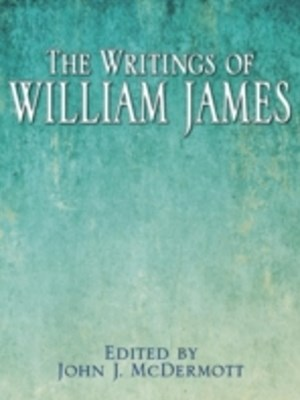 (ebook) Writings of William James