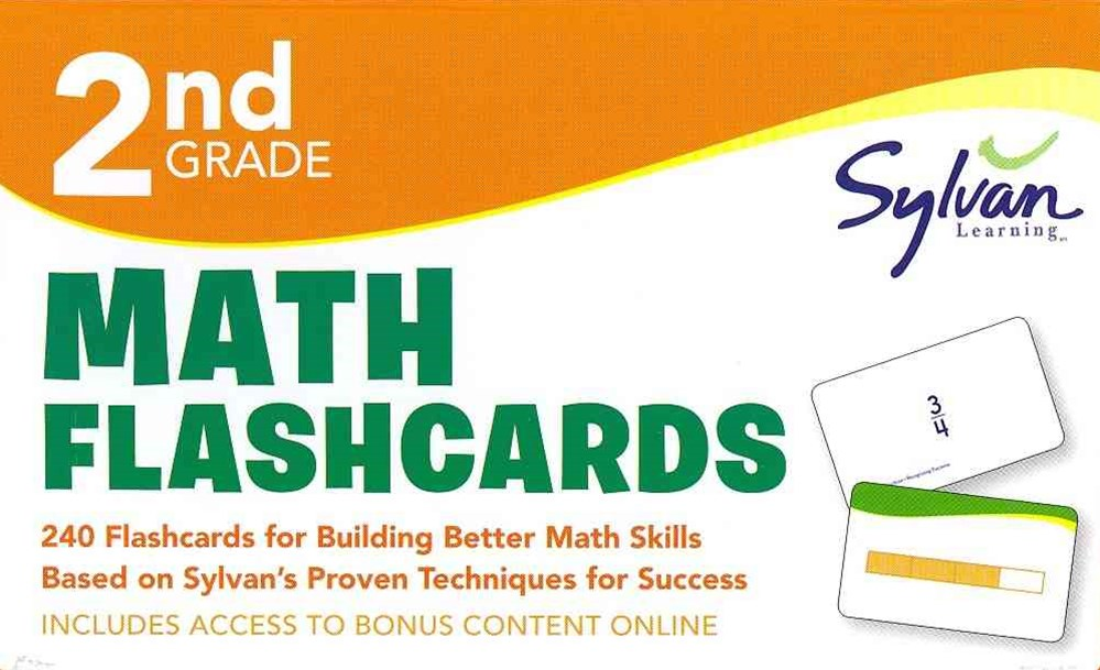 Second Grade Math Flashcards