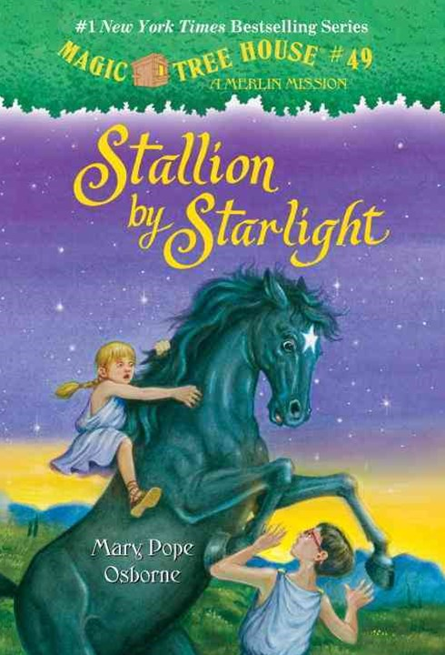 Magic Tree House #49 Stallion By Starlight