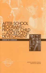 (ebook) After-School Programs that Promote Child and Adolescent Development - Social Sciences Sociology