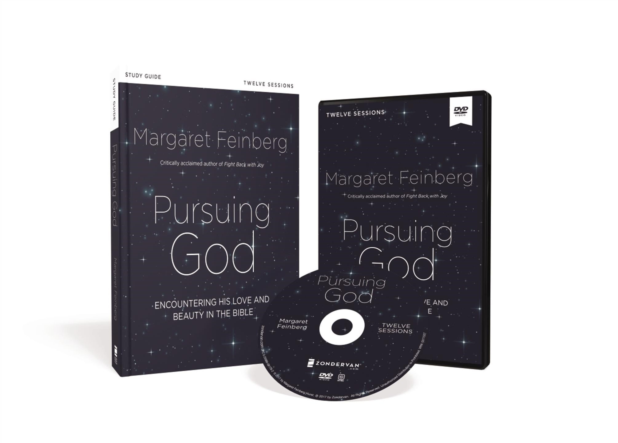 Pursuing God Study Guide With Dvd: Encountering His Love And Beauty In The Bible