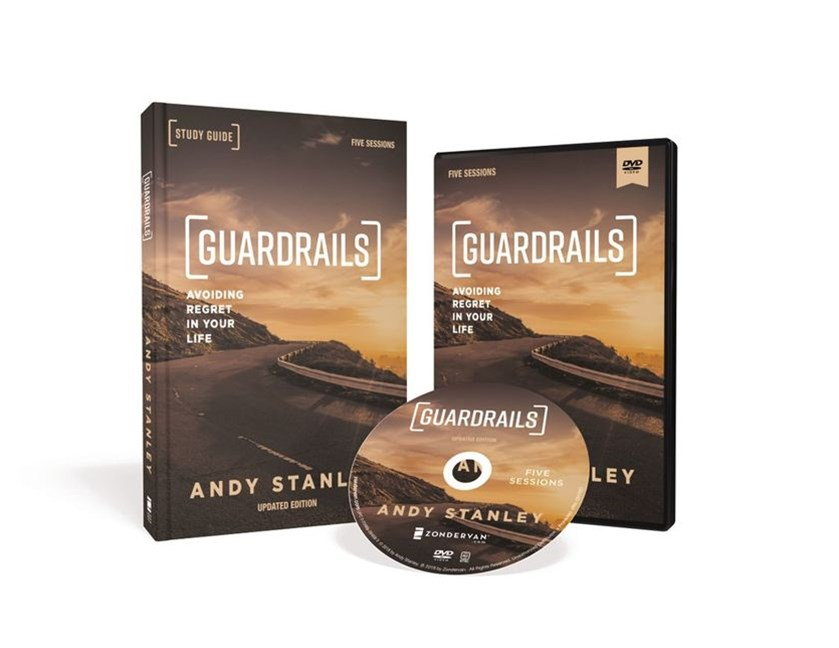 Guardrails Study Guide: Avoiding Regret In Your Life [Book With DVD, Updated Edition]