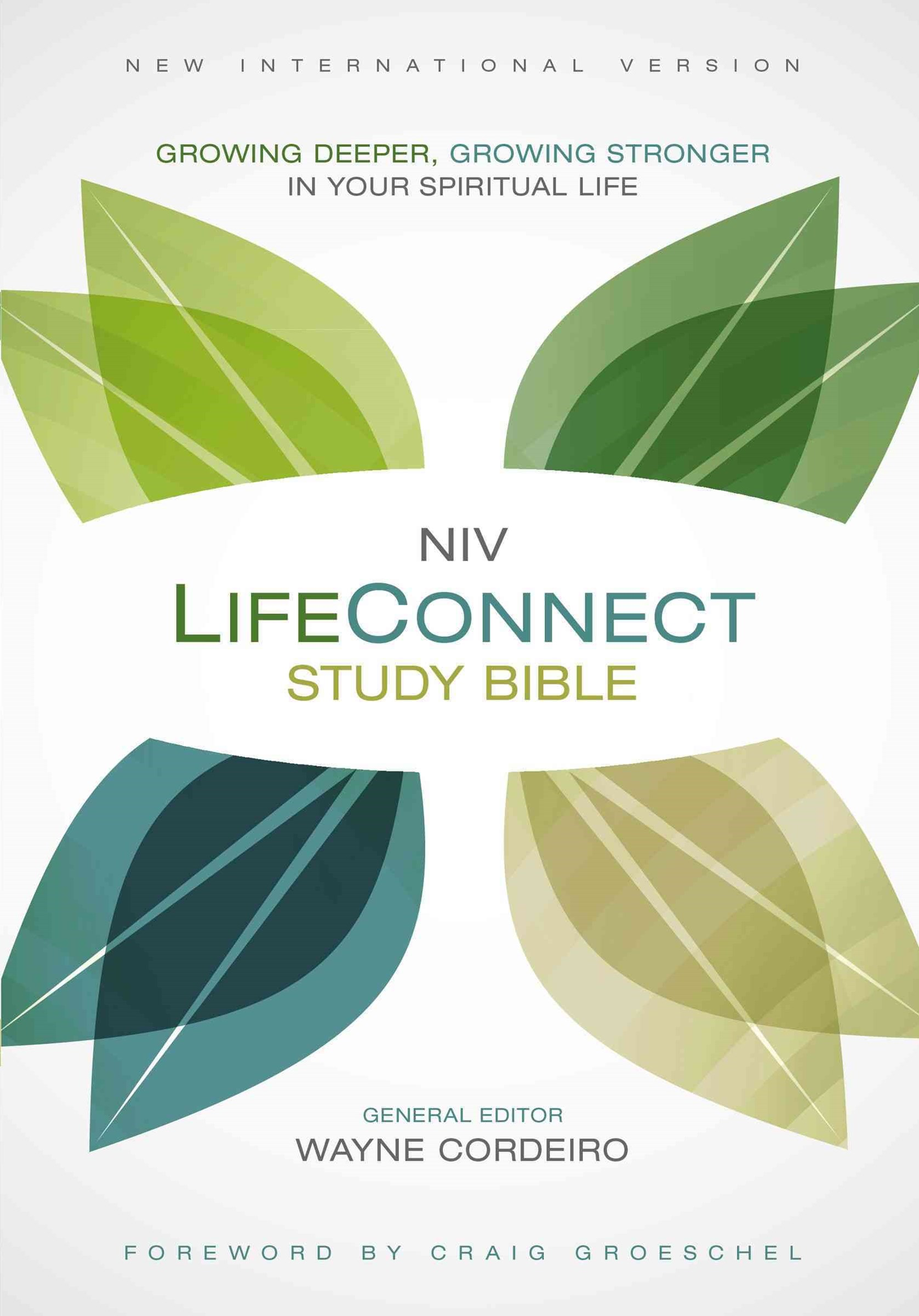 NIV Life Connect Study Bible: Growing Deeper, Growing Stronger in Your Spiritual Life