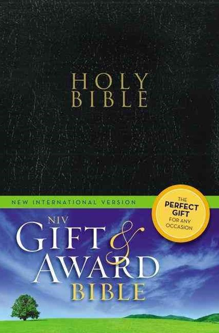 NIV Gift And Award Bible: Leather Bound
