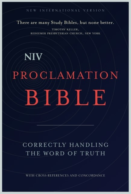 NIV, Proclamation Bible, eBook