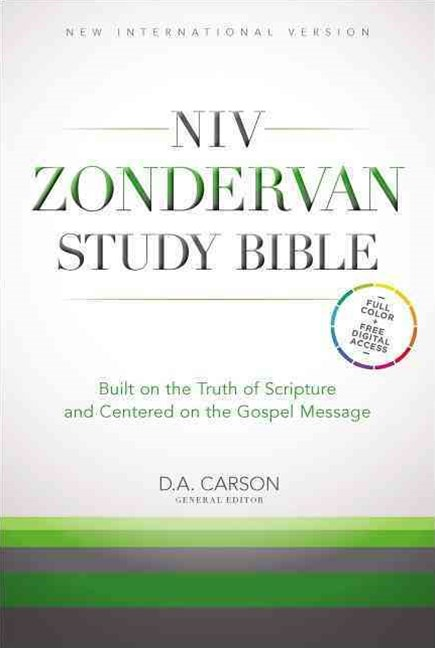 NIV Zondervan Study Bible: Built on the Truth of Scripture and Centered on the Gospel Message
