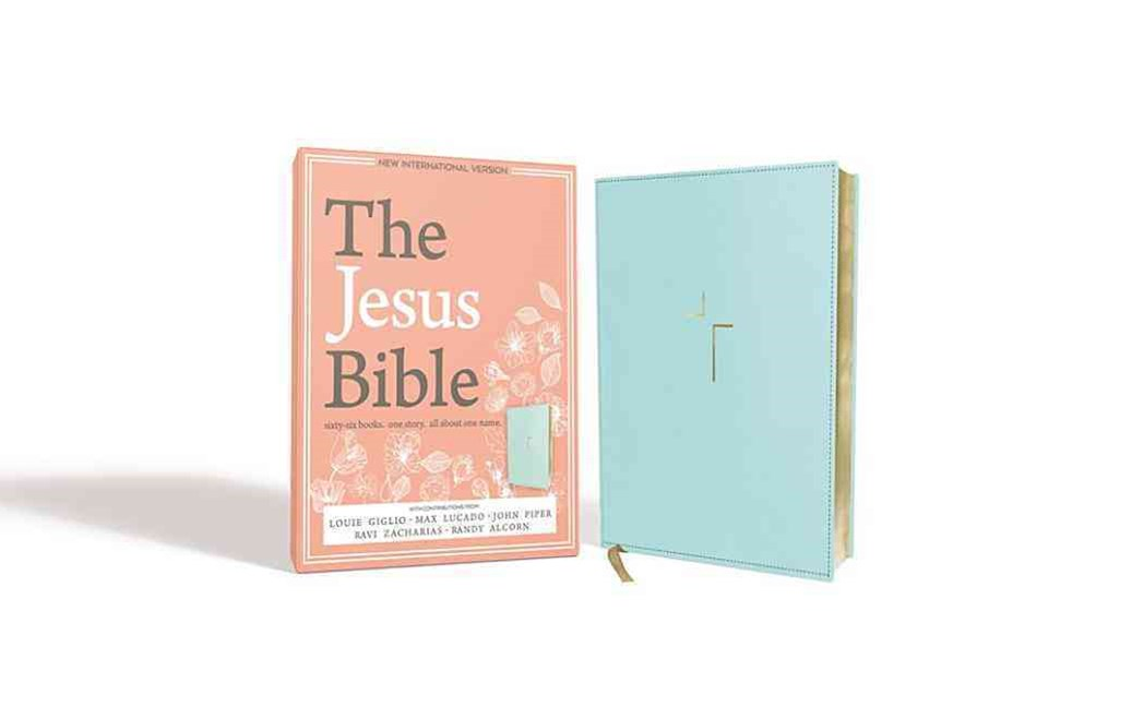 The Jesus Bible, NIV Edition [Blue]