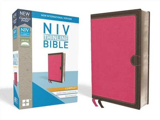 NIV Thinline Bible Compact [Pink]