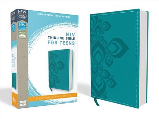 NIV Thinline Bible For Teens Red Letter Edition [Blue]