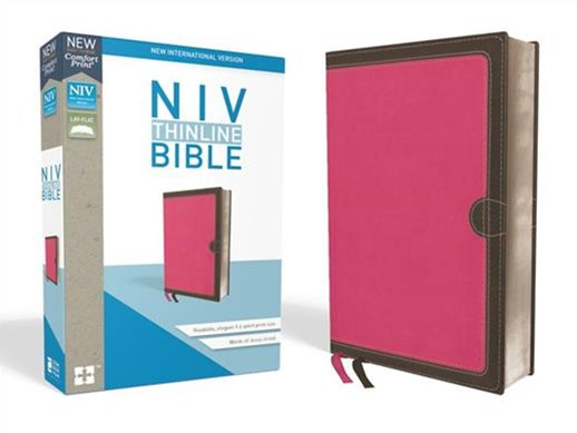 NIV Thinline Bible Red Letter Edition [Pink]