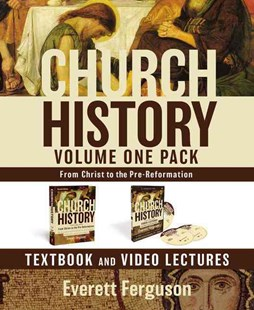 Church History, Volume One Pack: From Christ To The Pre-reformation by Everett Ferguson (9780310534327) - HardCover - History Ancient & Medieval History